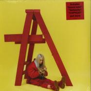 Front View : Billie Eilish - DONT SMILE AT ME (RED LP) - Interscope / 5791948