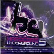 Front View : Various Artists - HARDCORE UNDERGROUND 5 (4X CD) - Hardcore Underground / hucd005
