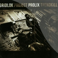 Front View : Gridlok & Prolix - PROJECT TRENDKILL (4X12 LP) - Project 51 / PTK-01 / ptk-01