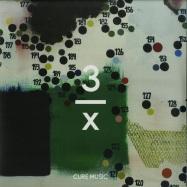 Front View : Afriqua - PROPHETTE (2X12INCH 180G / VINYL ONLY) - Cure Music / 3/x