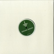 Front View : Cab Drivers - LAGOON OF ENDLESS GREEN / SECOND MUSH (GREEN TRANSPARENT VINYL) - Ground Service Records / GROUND003