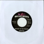 Front View : Cerrone / James Brown - ROCKET IN THE POCKET / CAN I GET SOME HELP (7 INCH) - Breaks+Beats / BAB008