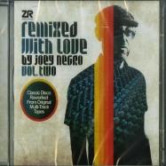 Front View : Joey Negro - REMIXED WITH LOVE VOL. 2 (2XCD, UNMIXED) - Z Records / ZeddCD038 / 05124472