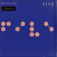 Front View : White Lies - FIVE (LP, 180 G VINYL+MP3) - PIAS / PIASR445LP / 39225701