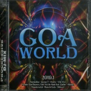Front View : Various Artists - GOA WORLD 2019.1 (2CD) - Pink Revolver / 2422232