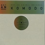 Front View : Komodo - RUNNING INTO THE SUN (ERIC DUNCAN, LATREC MIXES) (140 G VINYL) - Not An Animal / NAAR 015
