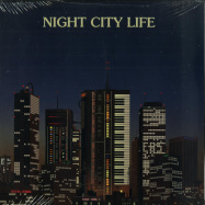 Front View : Various Artists - NIGHT CITY LIFE: COMPILED BY ILAN PDAHTZUR (2LP) - Spacetalk Records / STLKLP006