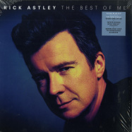 Front View : Rick Astley - THE BEST OF ME (CLEAR BLUE 2LP + MP3) - BMG / 405053853793