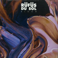 Front View : Rufus Du Sol - BLOOM (2LP, TRANSPARENT PURPLE) - Sweat It Out / SWEATSV007