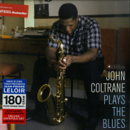 Front View : John Coltrane - PLAYS THE BLUES (180G LP) - Jazz Images / 1024823EL1