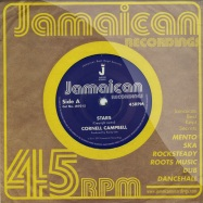 Front View : Cornel Campbell - STARS / VERSION (7 INCH) - Jamaican Recordings / jr7015
