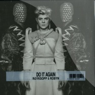 Front View : Royksopp & Robyn - DO IT AGAIN - WHITE LP / GATEFOLD SLEEVE (incl DL CODE) - Dog Triumph / Wall Of Sound / DOG007V