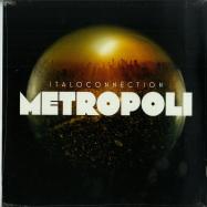Front View : Italoconnection - METROPOLI (2X12 ORANGE VINYL REPRESS) - Bordello A Parigi / BAP108