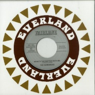 Front View : The Gardenias - WHATS THE MATTER WITH ME (7 INCH) - Everland / EVERLAND45-006