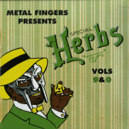 Front View : MF Doom - SPECIAL HERBS VOL. 9 & 0 (2LP + 7INCH) - Nature Sounds / NSD166-1