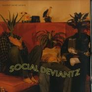 Front View : Social Deviantz - ESSENTIAL MENTAL NUTRIENTS (LP) - Diggers With Gratitude / DWG027