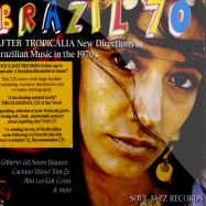 Front View : Various - BRAZIL 70 (CD) - Soul Jazz Records / SJRCD164