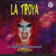 Front View : Various Artists - LA TROYA IBIZA 2015 (CD) - DJ Center Records / 370057830966