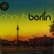 Front View : Various Artists - ABOUT BERLIN 14 (4X12 LP + MP3) - Polystar / 0600753712290