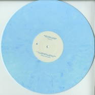 Front View : Melodie & Teluric pres. Glueped - GLUES FROM THE TOOLBOX (180G BLUE WHITE MARBLED VINYL ONLY) - BLEU CIEL / BLEUCIEL004RP