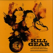 Front View : The Eichler Brothers - KILL GEAR (BLACK & ORANGE LP) - Redrum Recordz / RFR005-RED051