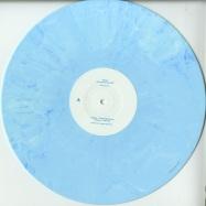Front View : Romar - CHASING DREAMS EP (180G BLUE WHITE MARBLED VINYL ONLY) - BLEU CIEL / BLEUCIEL008