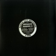 Front View : Menace Makes 3 - DO YOU FEEL WHAT IM FEELING (MATRIX RISE MIX) / PURE HYSTERIA (GIVE ME A MOTHER MIX) - Danse City Records / DC1203
