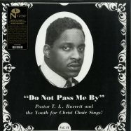 Front View : Pastor T.L. Barrett and The Youth for Christ Choir - DO NOT PASS ME BY VOL. II (LTD SILVER LP) - Numero Group / NUM1270-C1