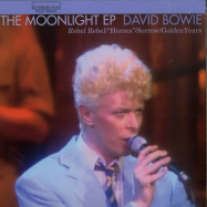 Front View : David Bowie - THE MOONLIGHT EP (ORANGE 7 INCH) - Rocks Lane / KITTY27EP008-C