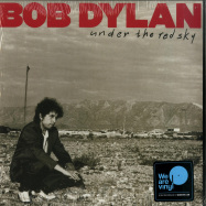 Front View : Bob Dylan - UNDER THE RED SKY (LP + MP3) - Sony Music / 19075846941