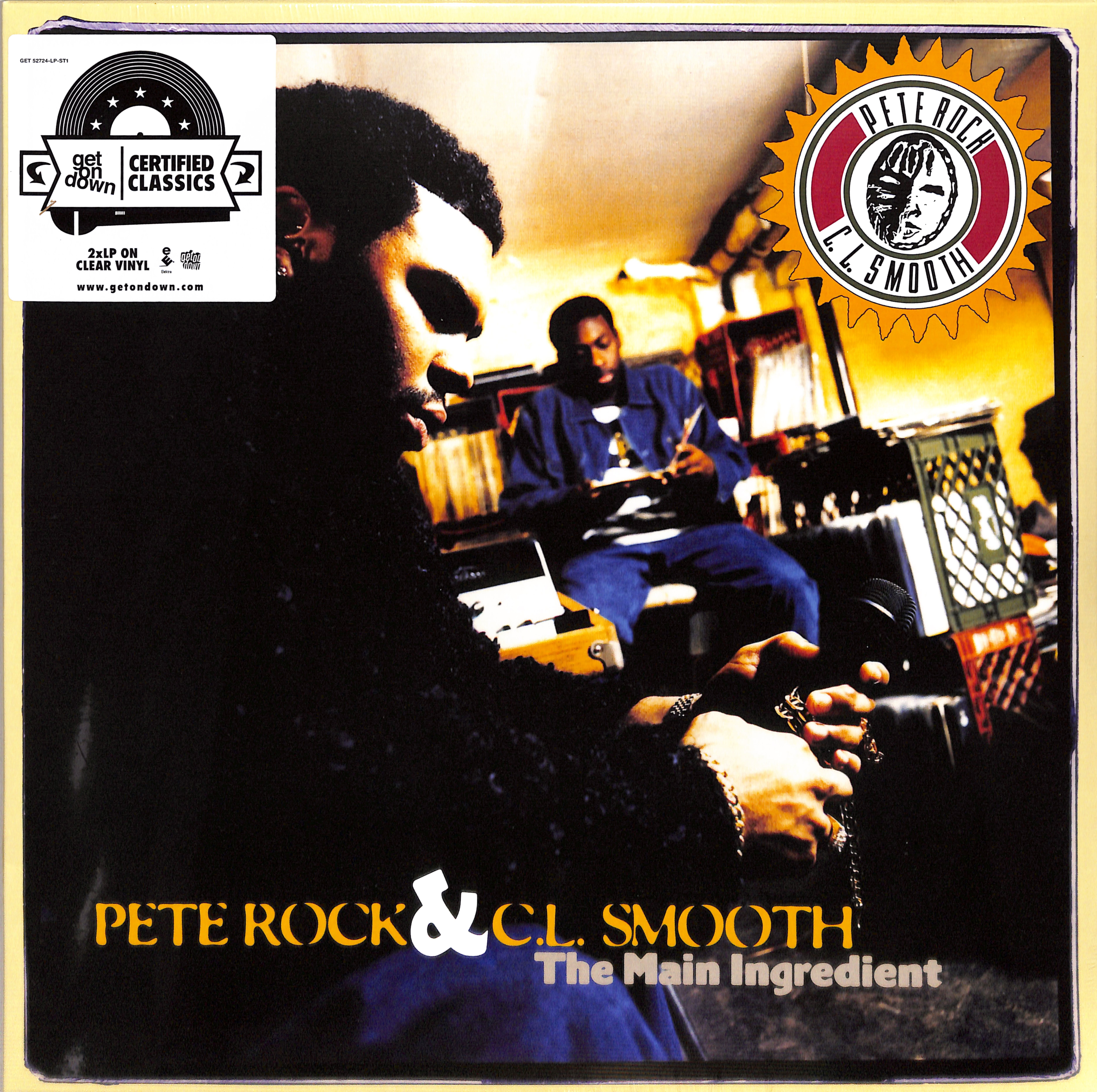 Pete Rock & C.L. Smooth - THE MAIN INGREDIENT