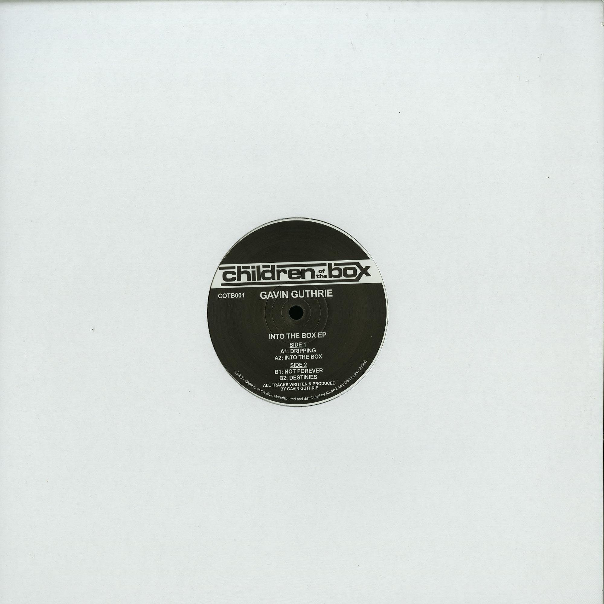 Gavin Guthrie - INTO THE BOX EP