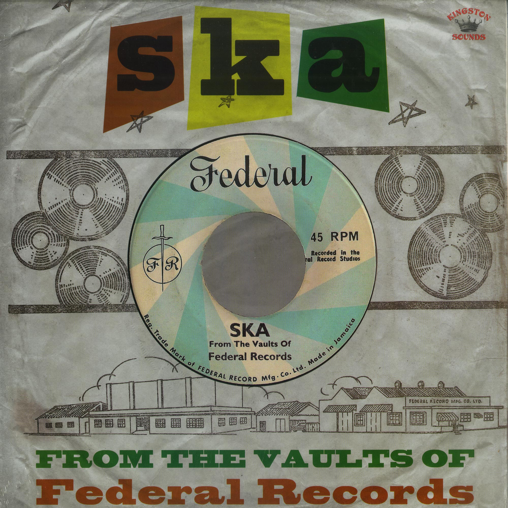Various Artists - SKA - FROM THE VAULTS OF FEDERAL RECORDS