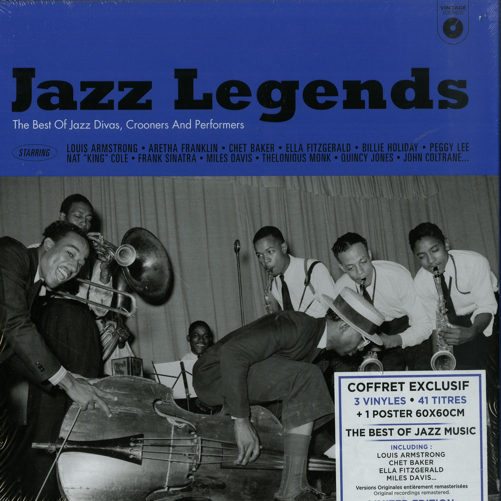 Various Artists - JAZZ LEGENDS BOX