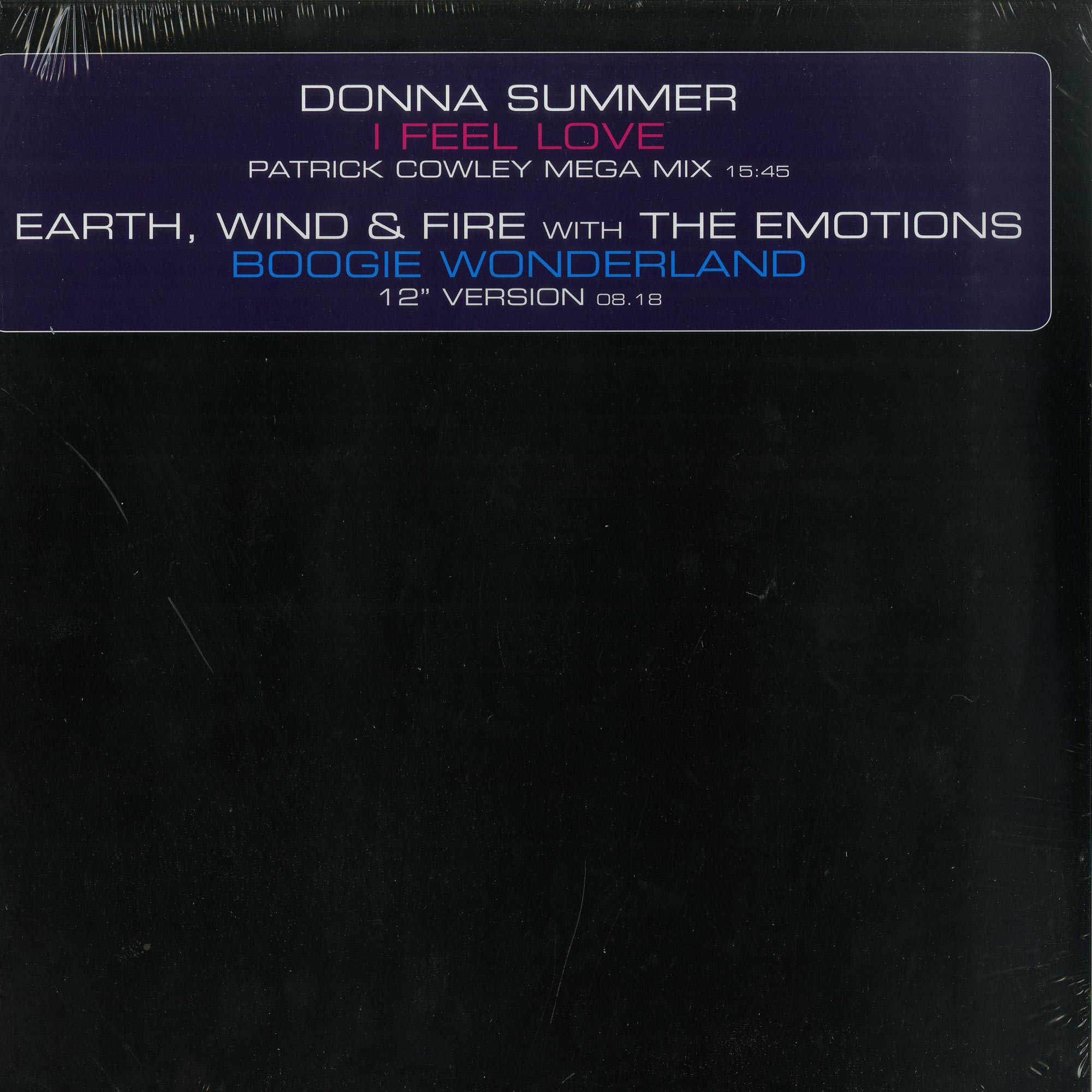 Donna Summer / Earth, Wind & Fire - I FEEL LOVE / BOOGIE WONDERLAND