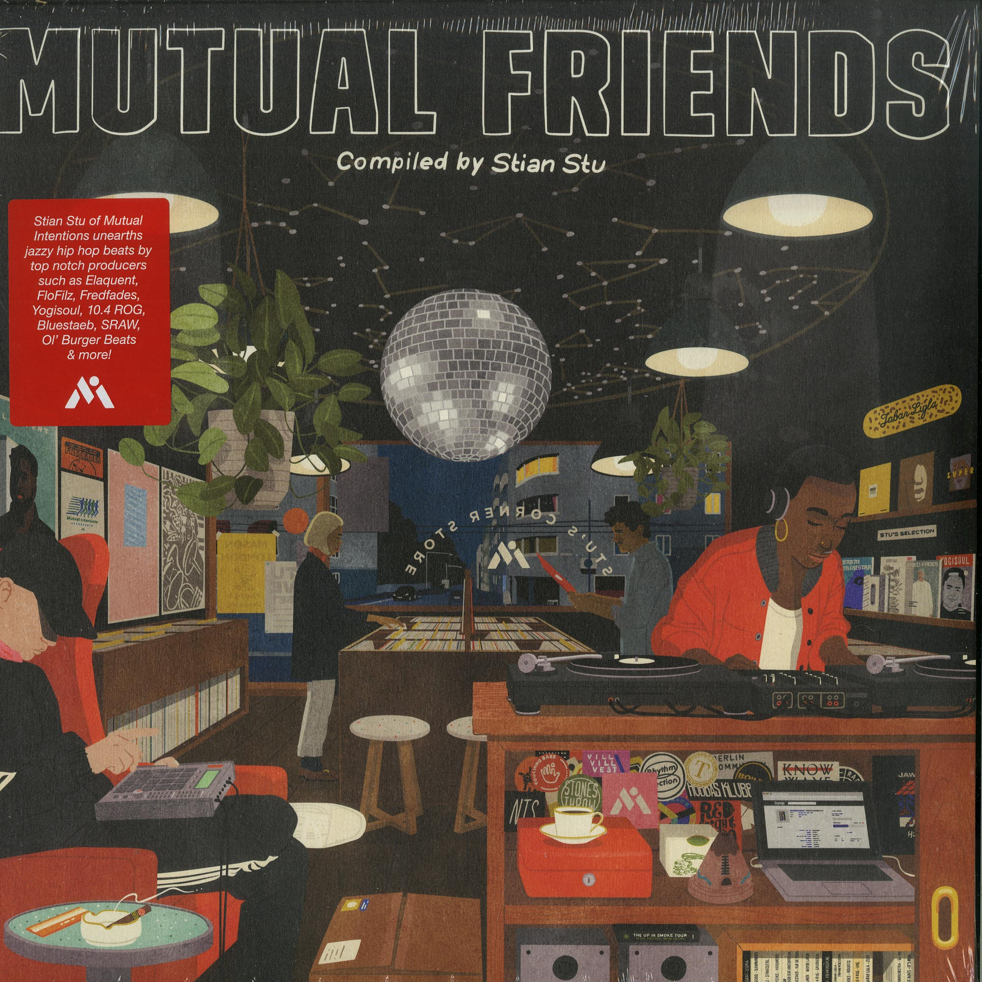 Various Artists - MUTUAL FRIENDS COMPILATION