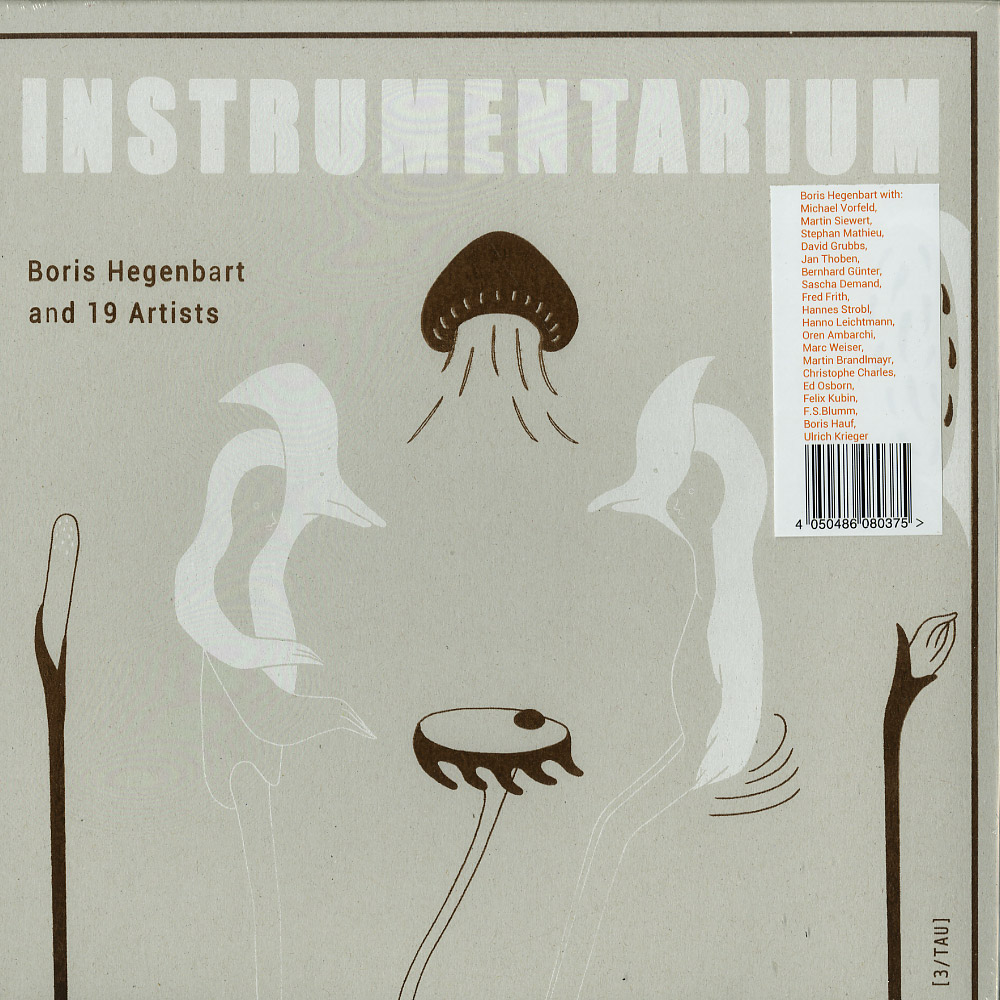 Boris Hegenbart & 19 Artists - INSTRUMENTARIUM