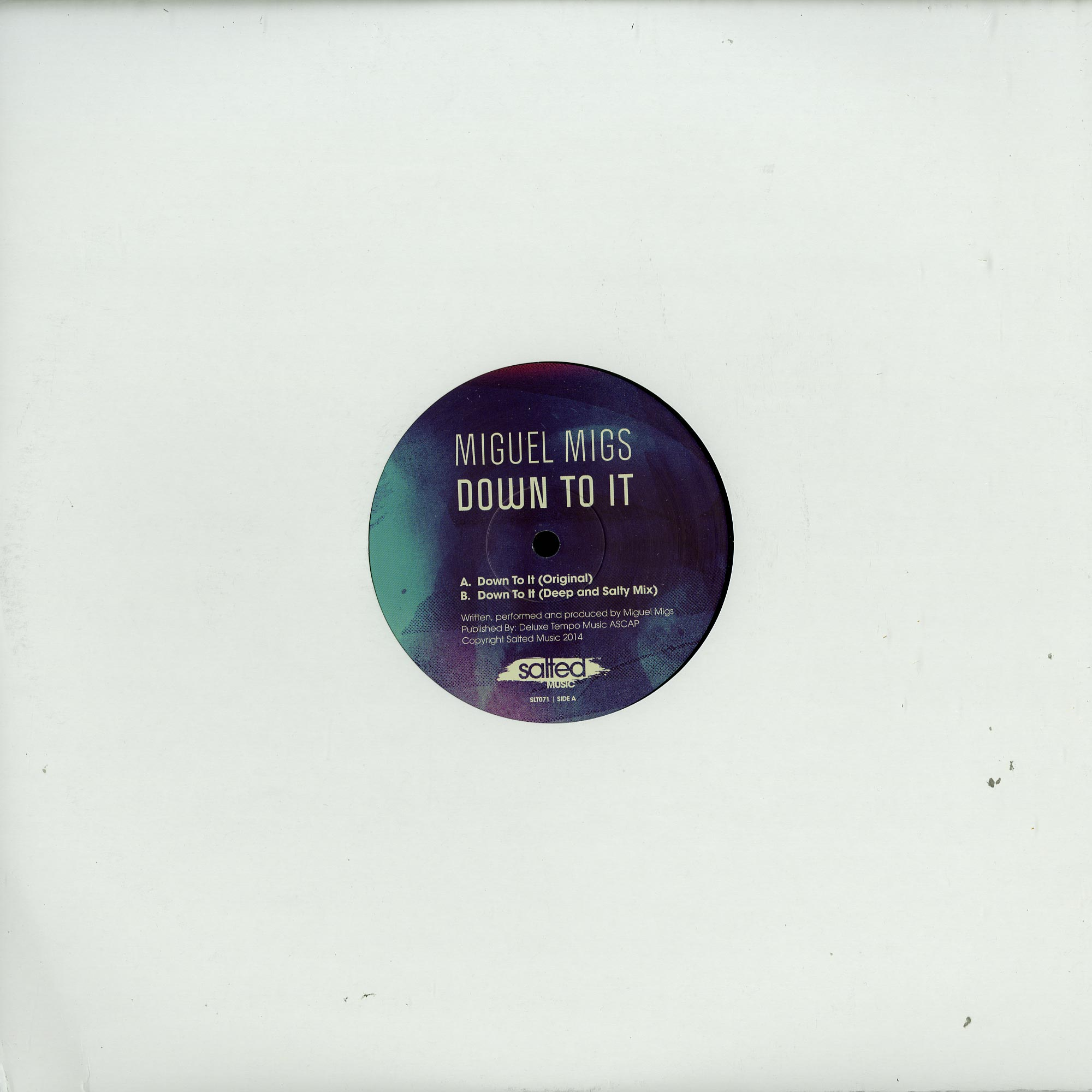 Miguel Migs - DOWN TO IT