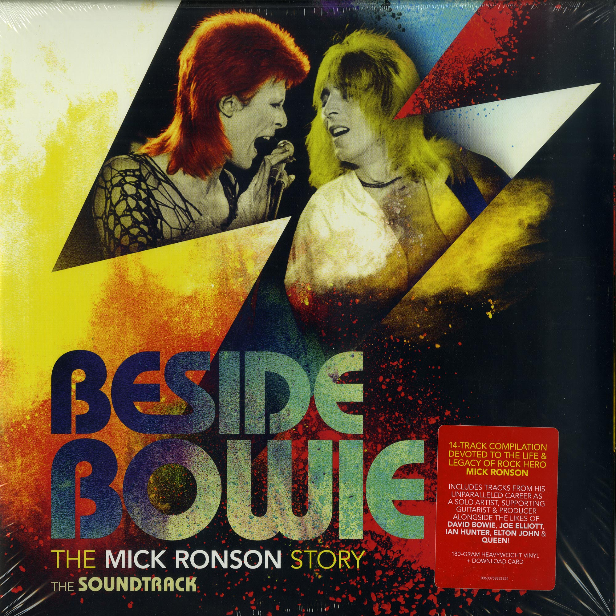 Various Artists - BESIDE BOWIE: THE MICK RONSON STORY O.S.T.