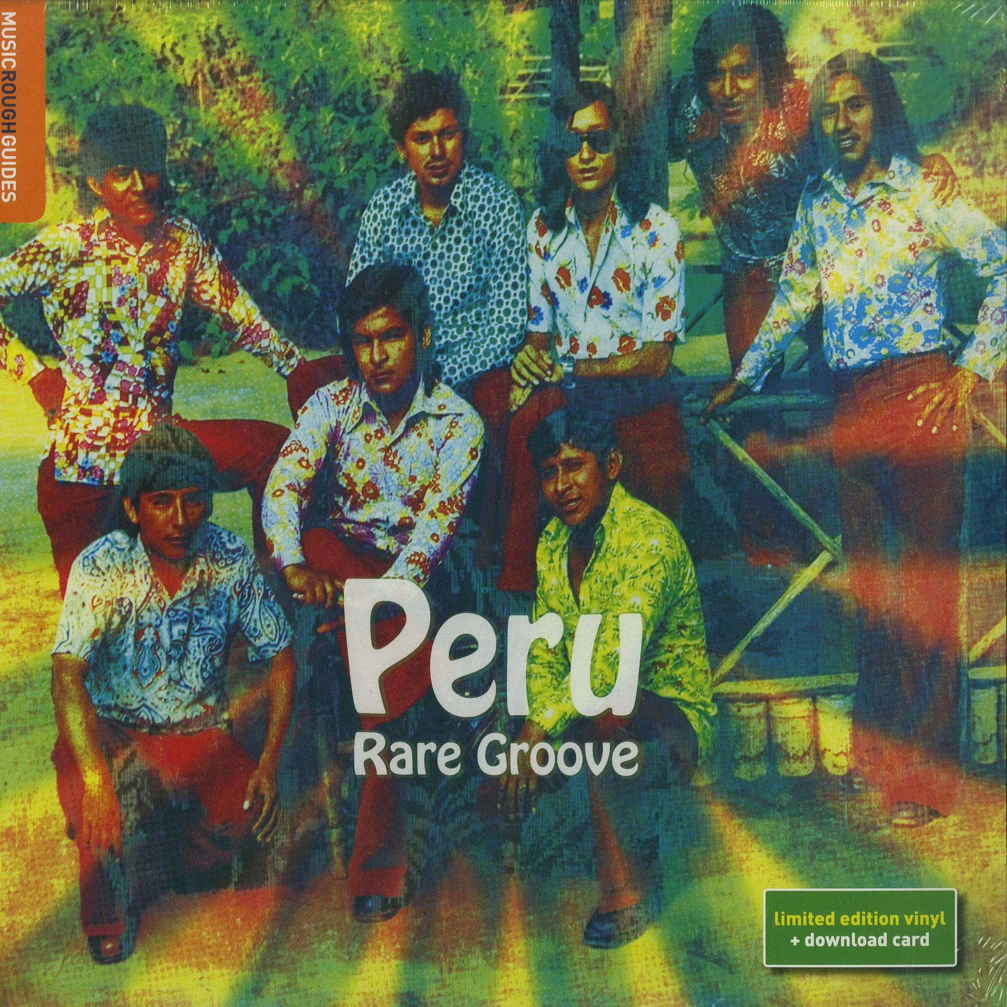 Various Artists - THE ROUGH GUIDE TO PERU RARE GROOVE