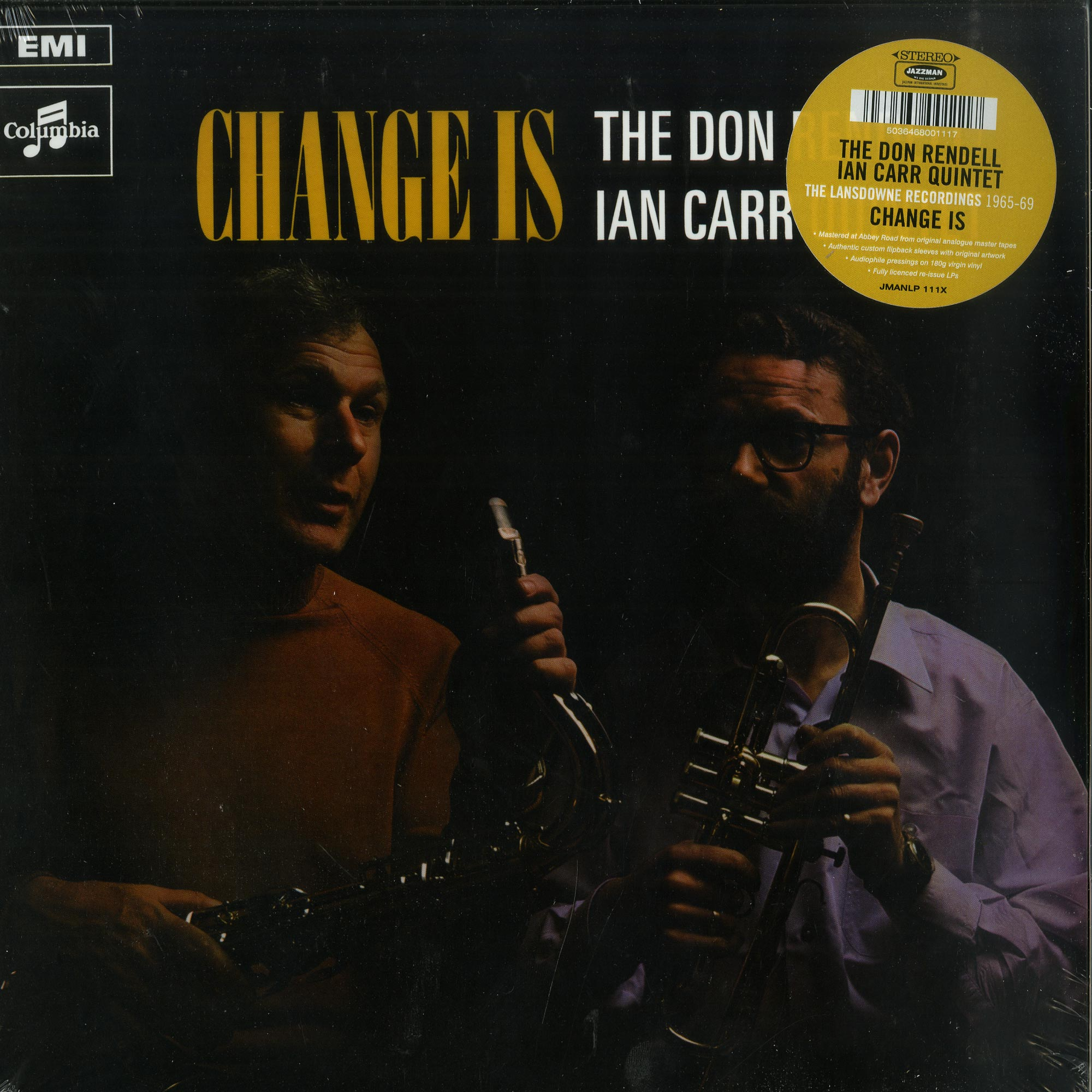 The Don Rendell & Ian Carr Quintet - CHANGE IS