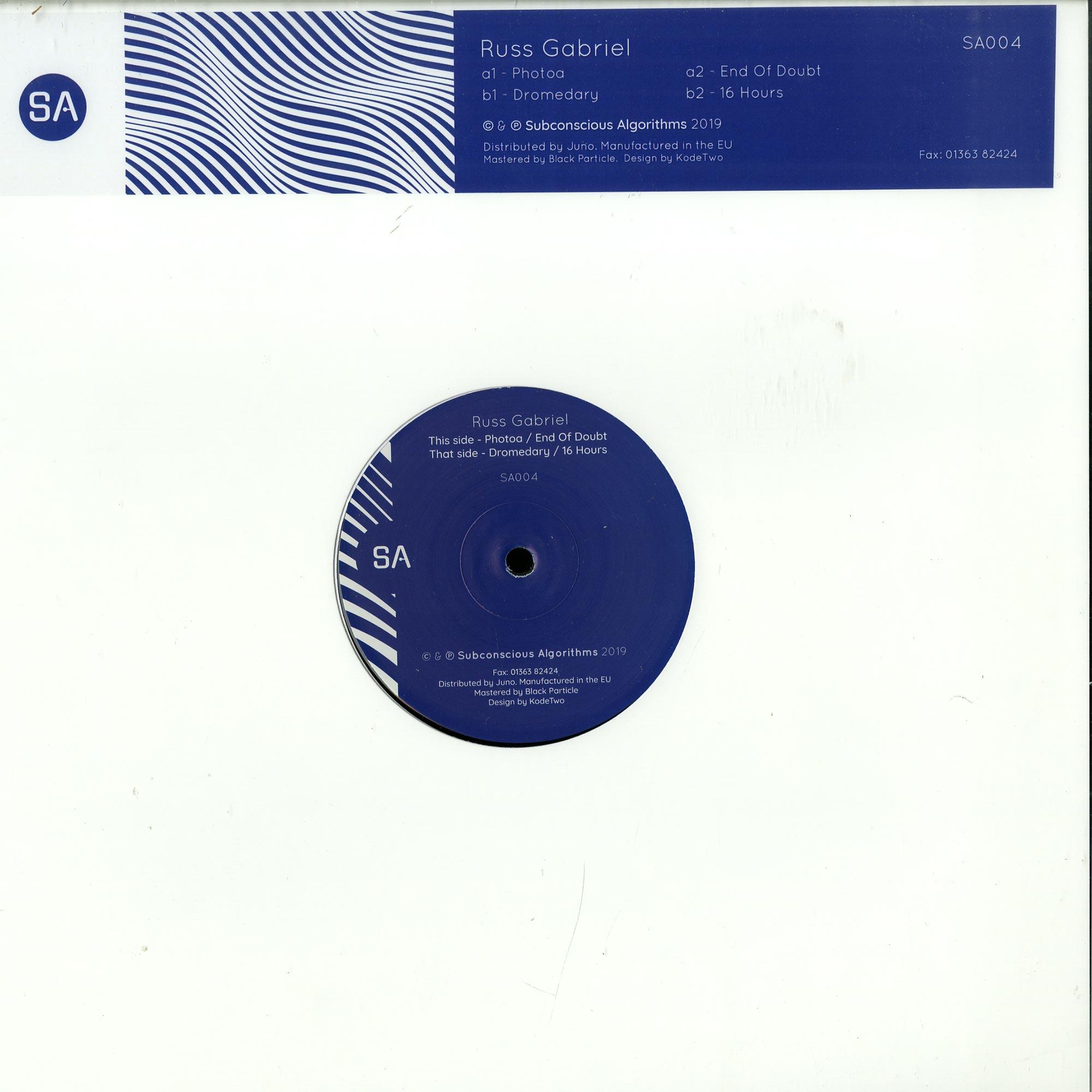 Russ Gabriel - SA 004
