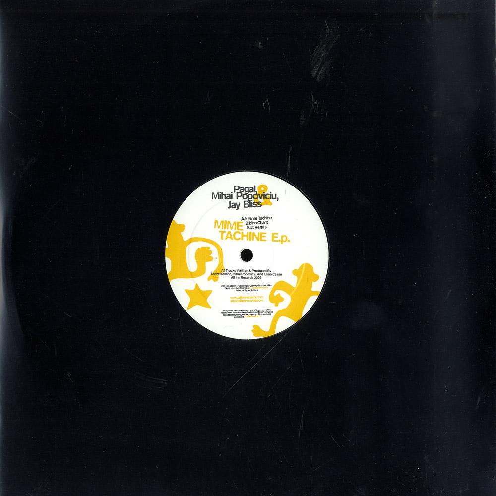 Pagal, Mihai Popoviciu, Jay Bliss - Mime Tachine EP