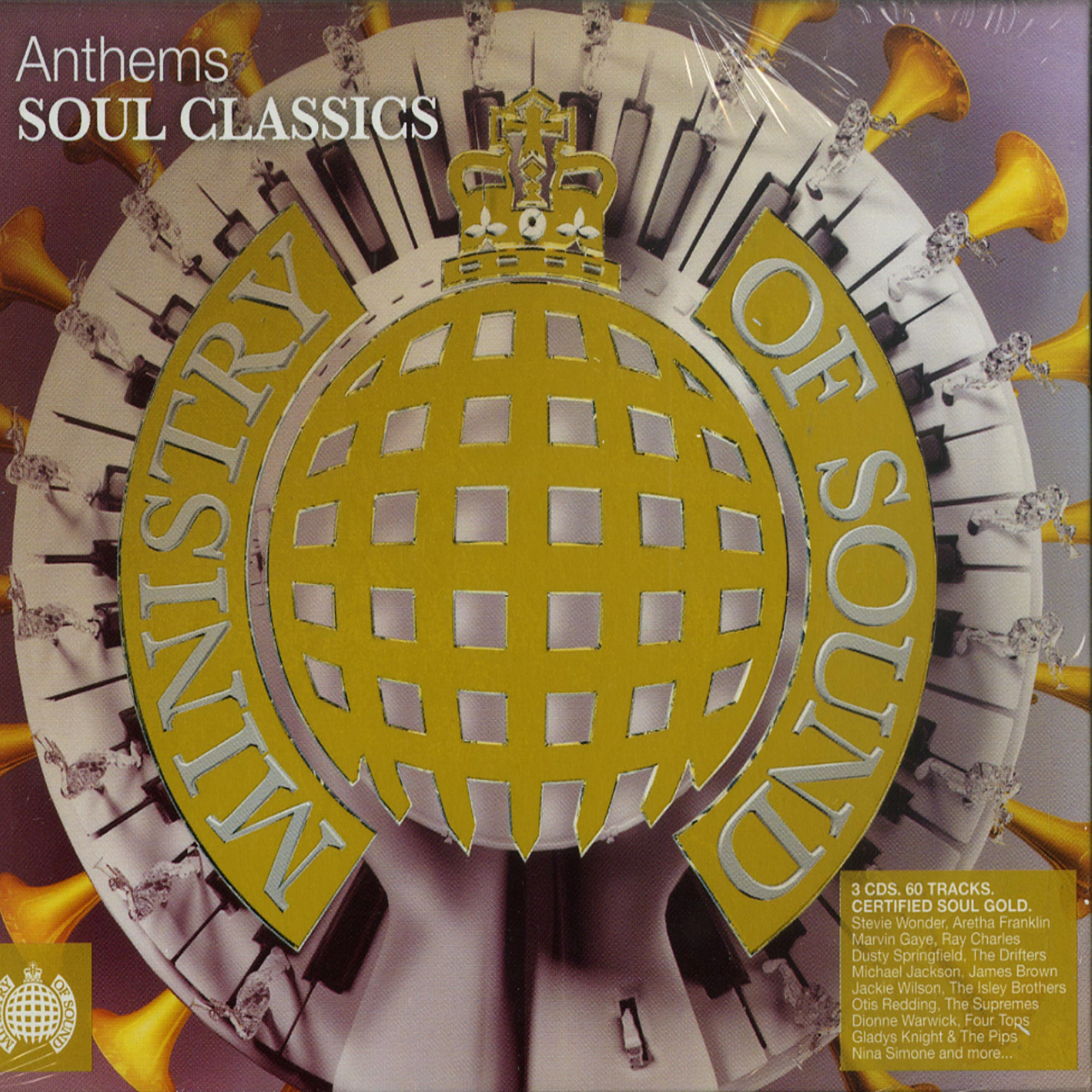 Various Artists - ANTHEMS SOUL CLASSICS