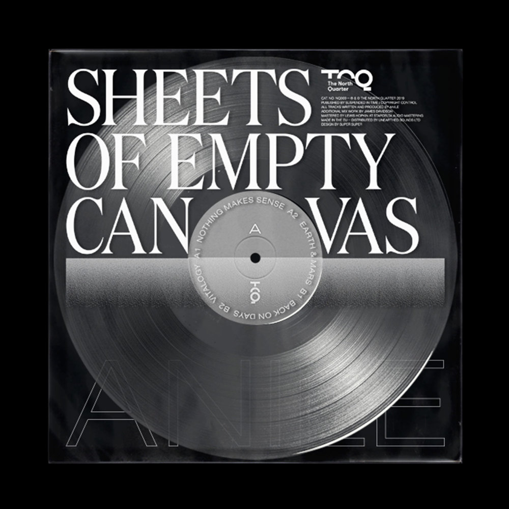 Anile - SHEETS OF EMPTY CANVAS