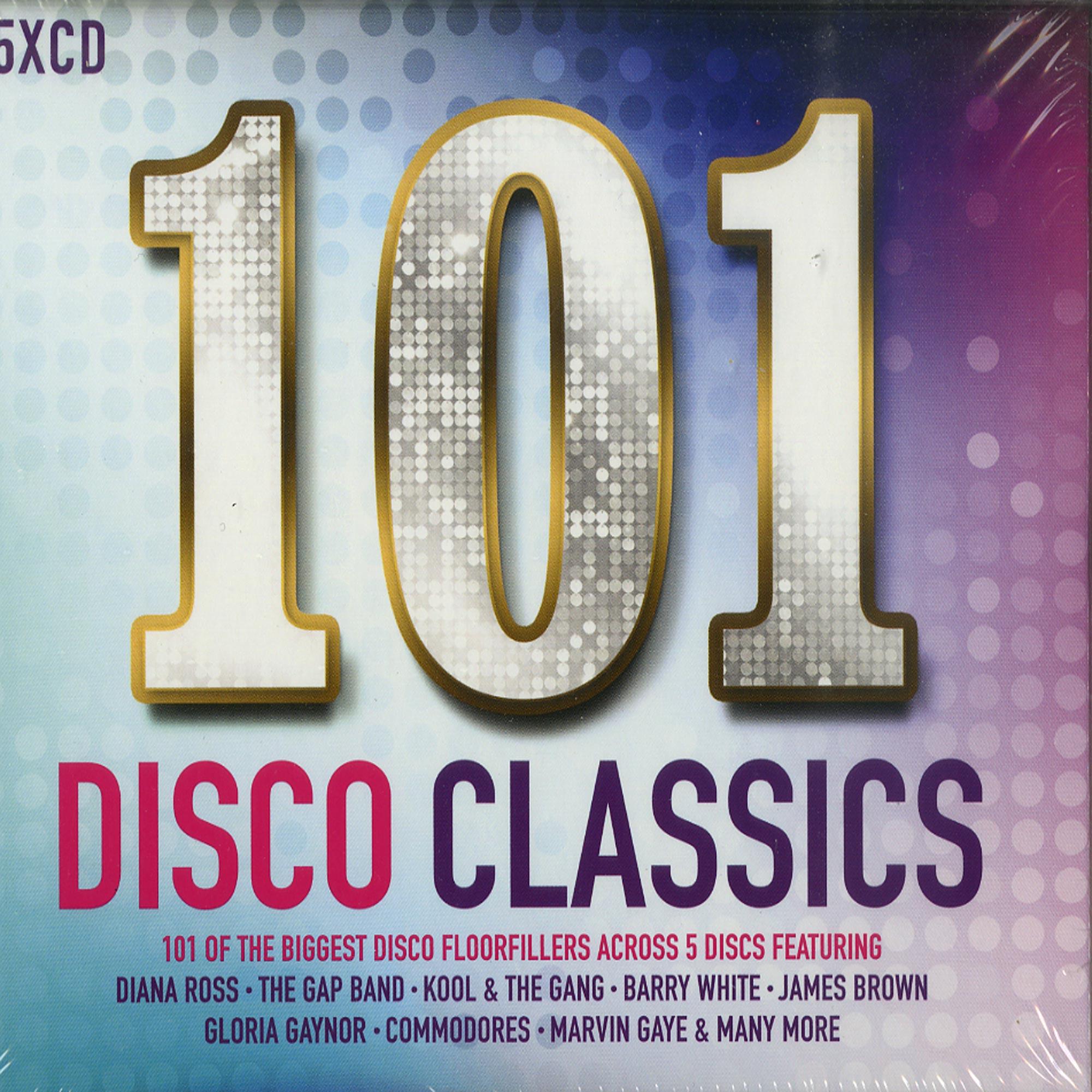 Various Artists - 101 DISCO CLASSICS