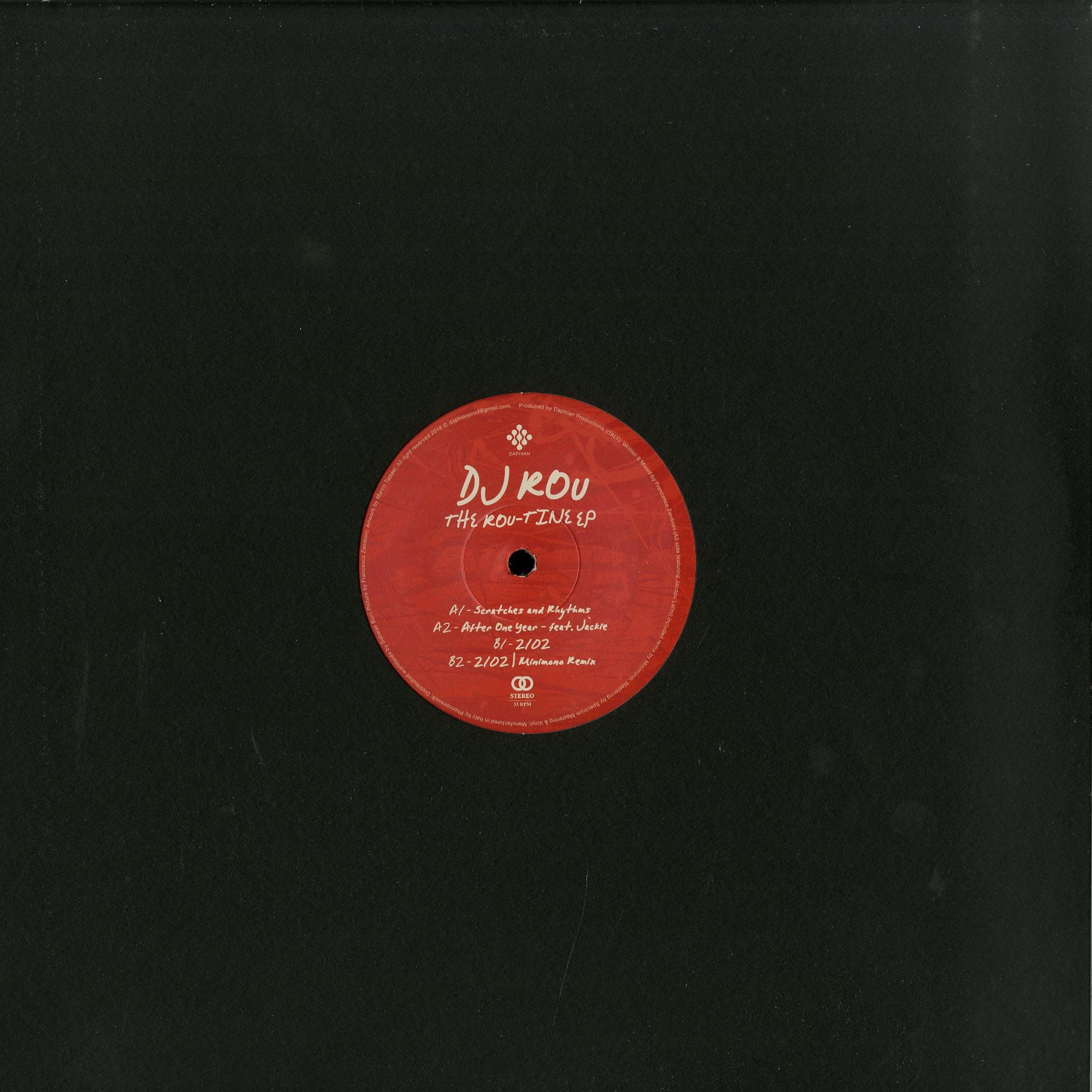 DJ Rou - THE ROU-TINE EP