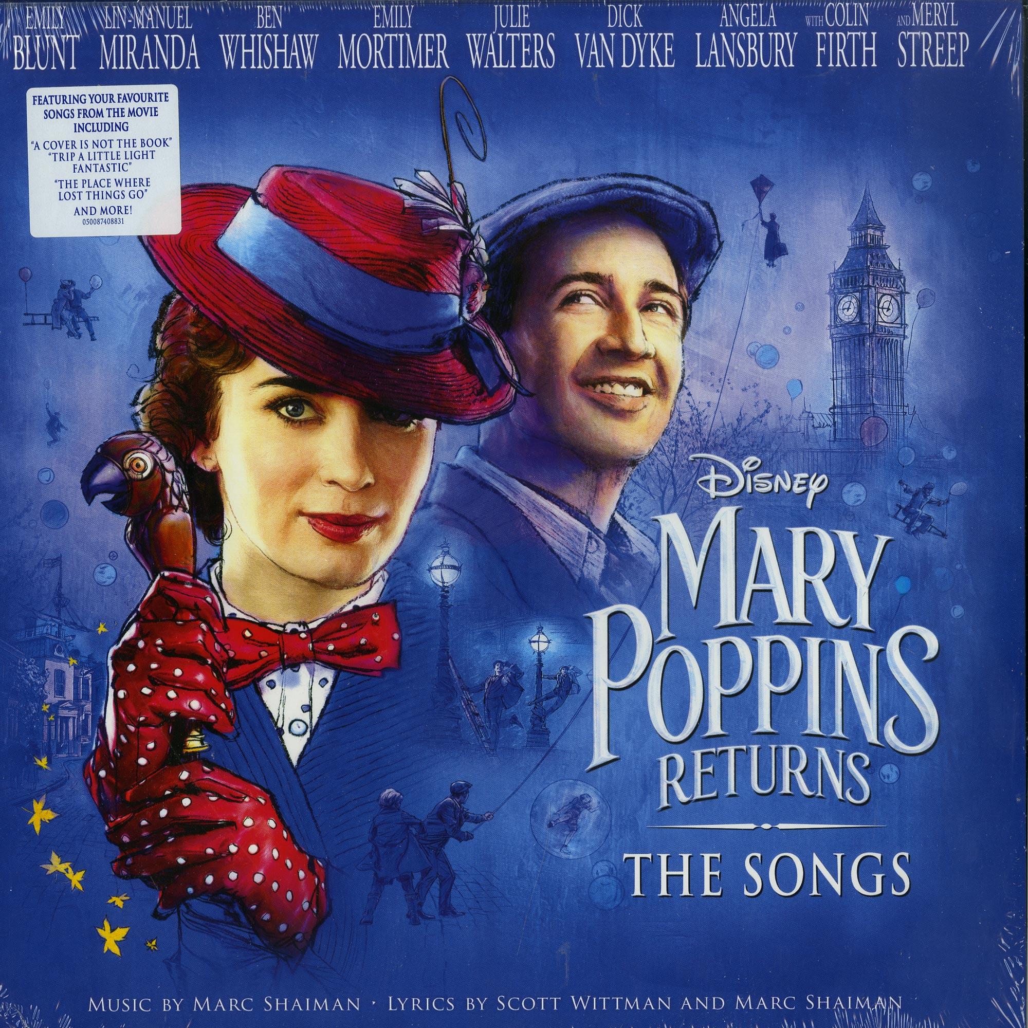 Marc Shaiman & Scott Wittman - MARY POPPINS RETURNS: THE SONGS