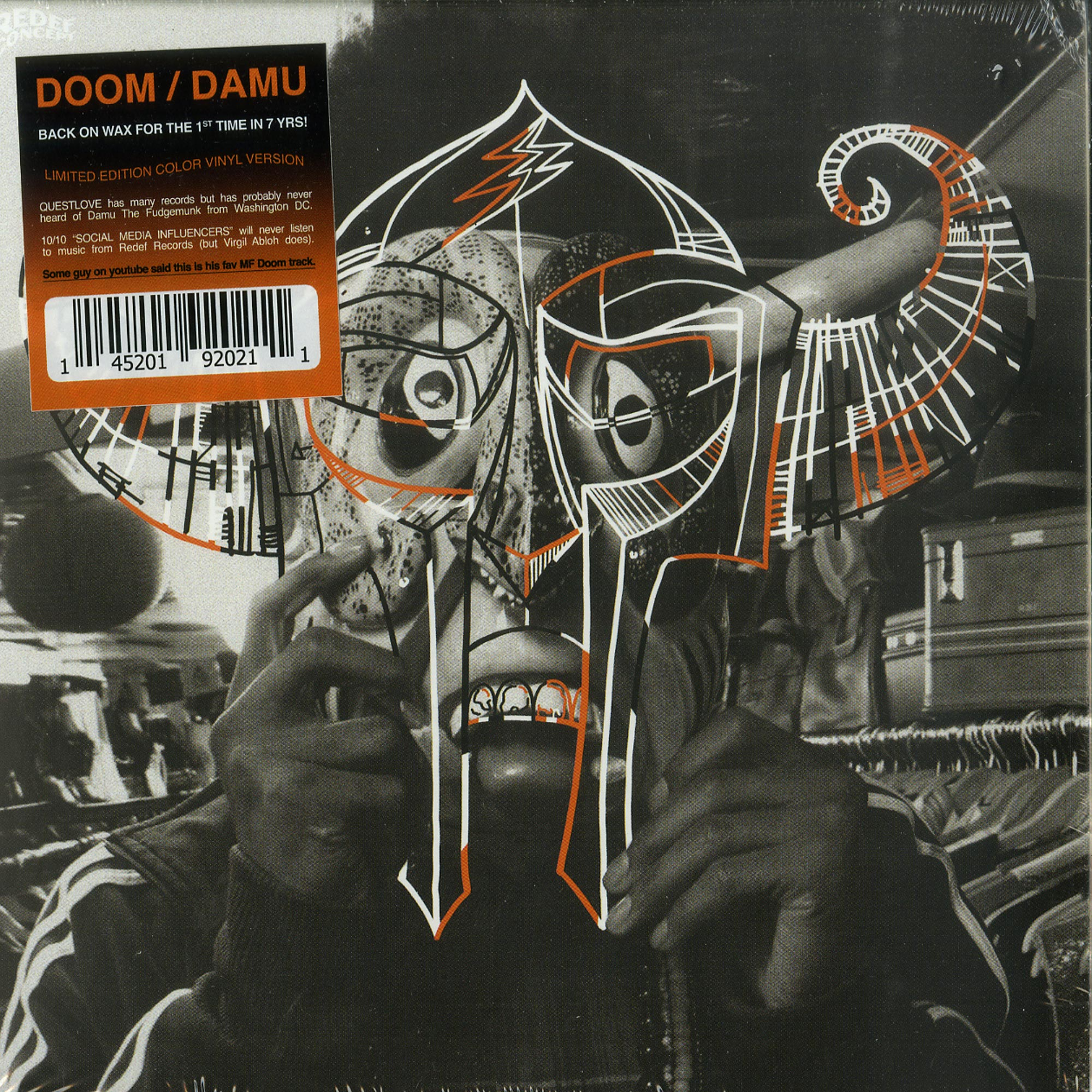 MF Doom x Damu The Fudgemunk - COCO MANGO, SLICED & DICED