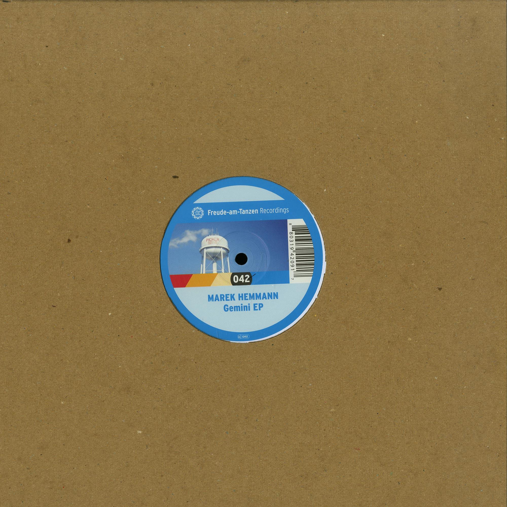 Marek Hemmann - GEMINI EP / INFINITY EP